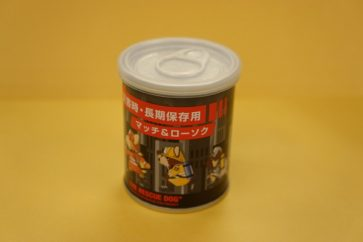 マッチ&ローソクの缶詰